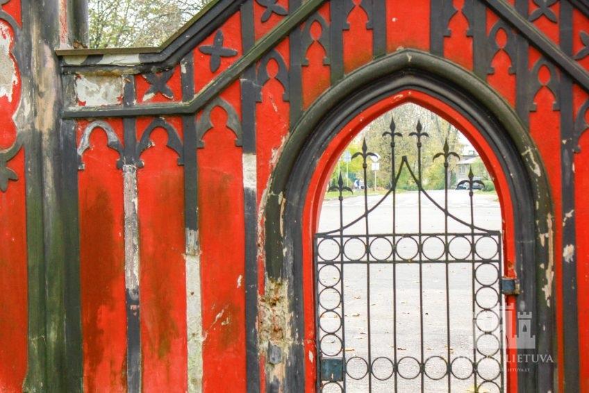Trakų Vokės dvaro sodybos pietų vartai
