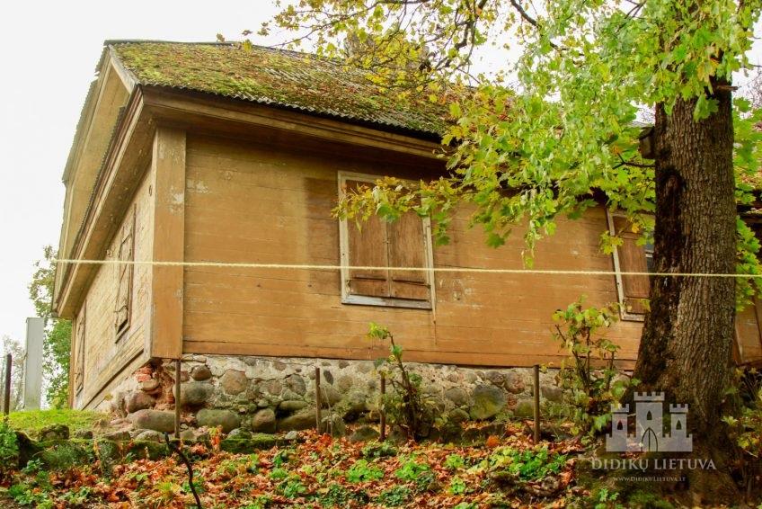 Trakų Vokės dvaro sodybos ūkvedžio namas