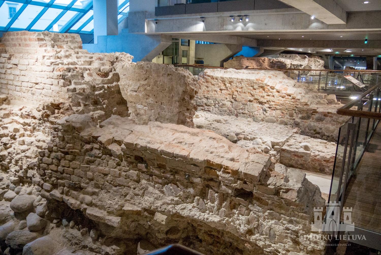 Arkikatedros Bazilikos liekanos