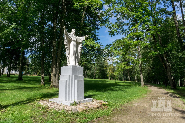 Burbiškio dvaro sodybos fragmentų parkas