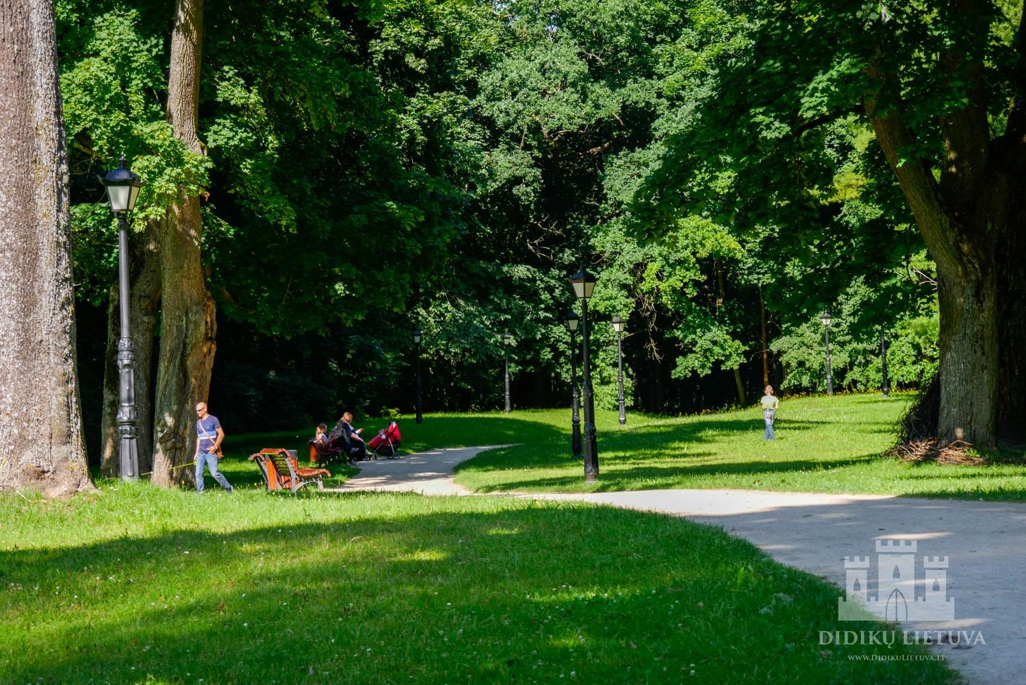 Raudondvario dvaro parkas