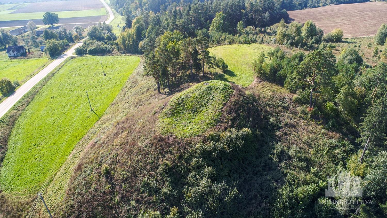 Pašventupio piliakalnio su gyvenviete piliakalnis ir gyvenvietė