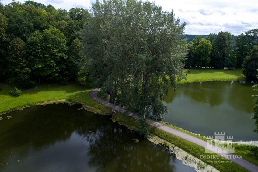 Panemunės pilies, vad. Gelgaudų, Vytėnų parkas