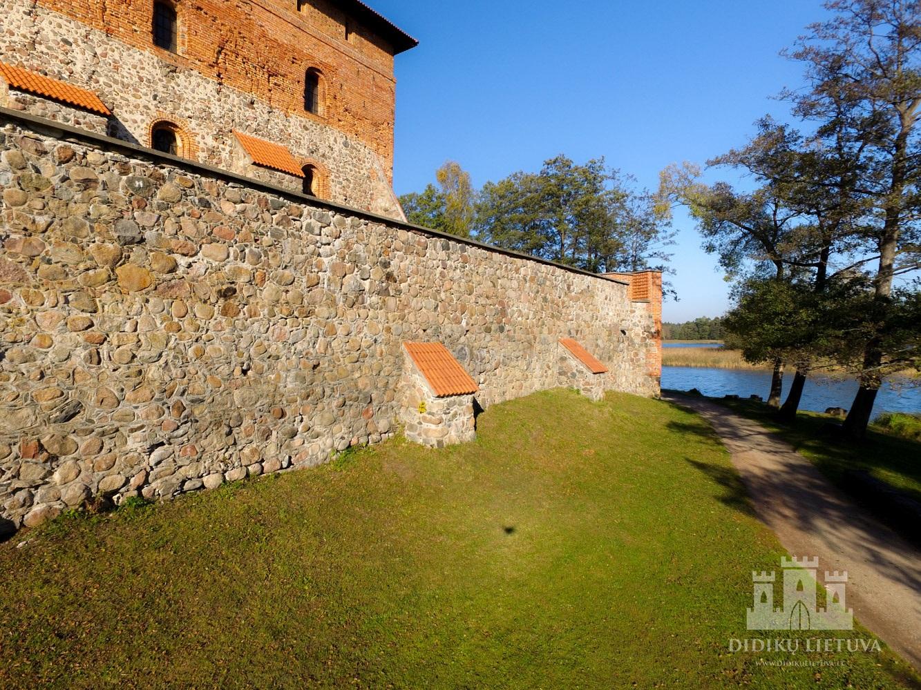 Trakų salos pilies rūmų gynybinė siena