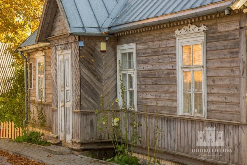 Trakų pusiasalio pilies liekanų ir kitų statinių komplekso namas I