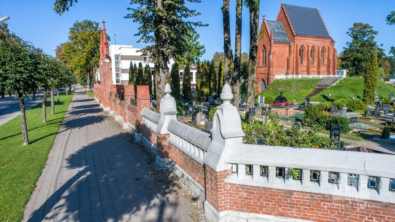 Pietinė tvoros atkarpa