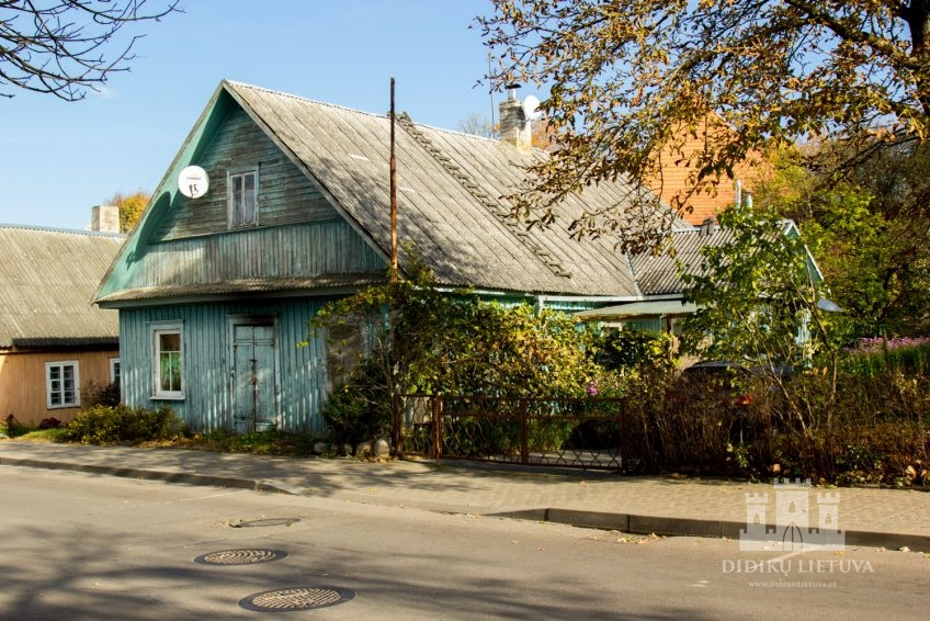 Trakų pusiasalio pilies liekanų ir kitų statinių komplekso Trakų karaimų namas I