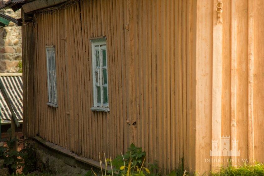 Trakų pusiasalio pilies liekanų ir kitų statinių komplekso Trakų karaimų namas VII