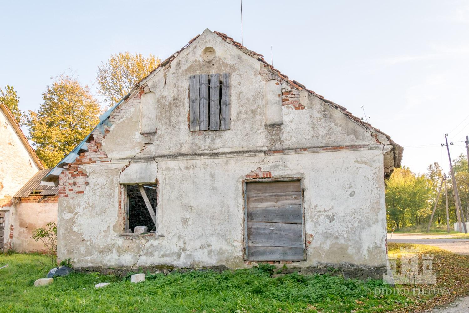 Kidulių dvaro sodybos kalvio-račiaus namas