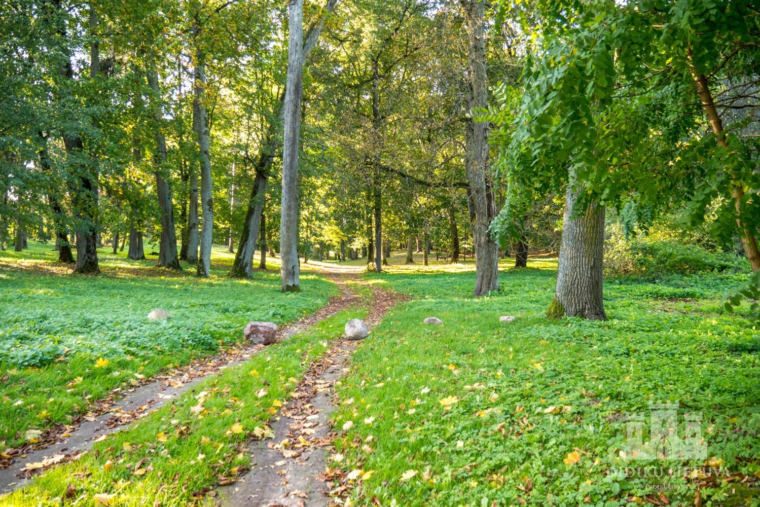 Kidulių dvaro sodybos parkas