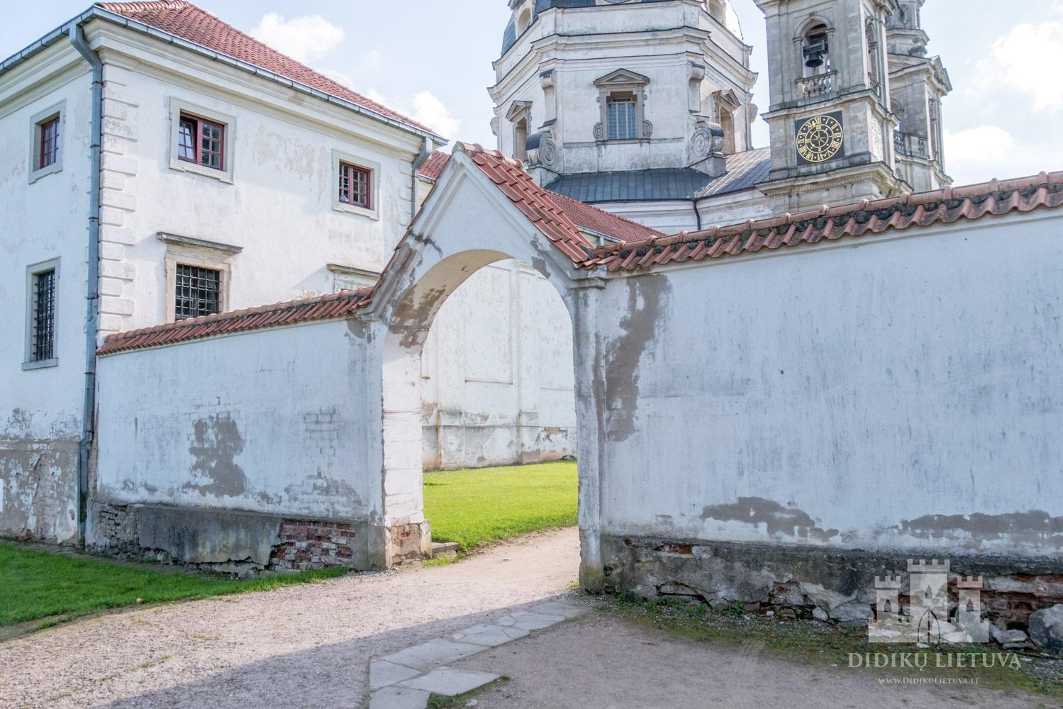 Pažaislio kamaldulių vienuolyno ansamblio šventoriaus tvora su vartais