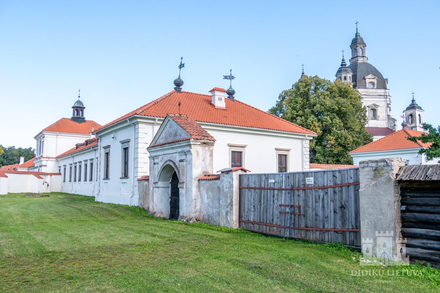 Pažaislio kamaldulių vienuolyno ansamblio pietų sodo tvora su vartais