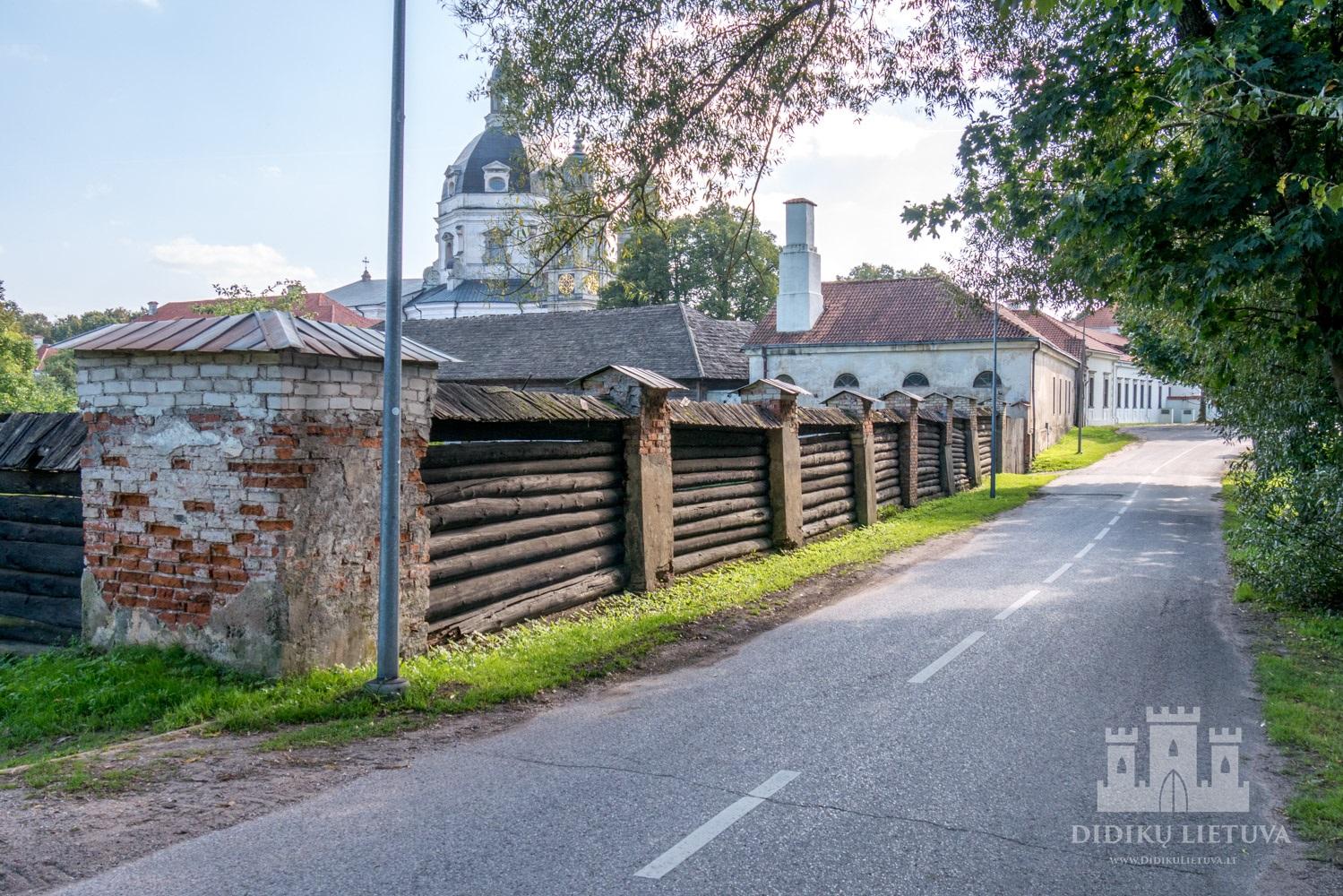 Pažaislio kamaldulių vienuolyno ansamblio šiaurės sodo tvora su vartais